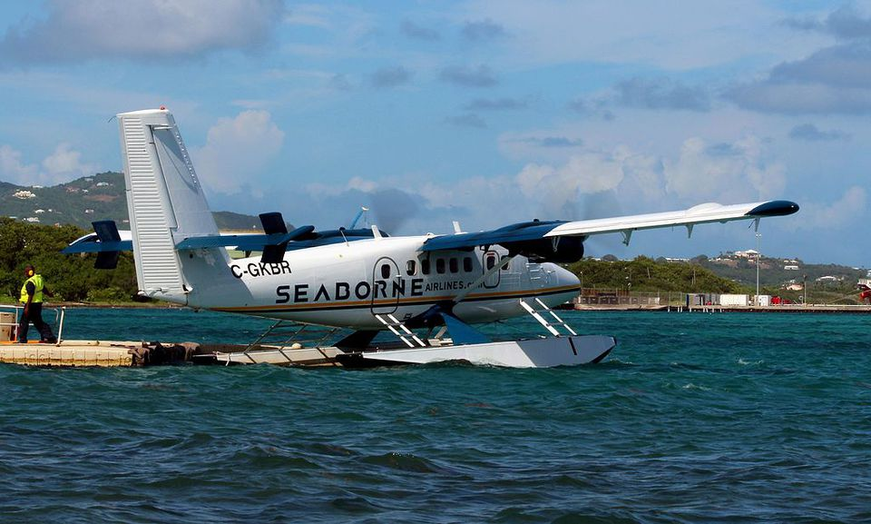 Seaborne Airlines Twin Otter Seaplane