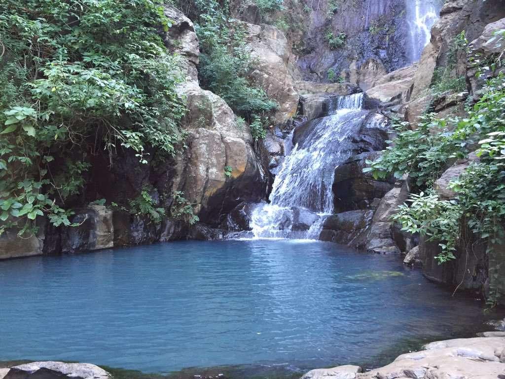 Cascada Los Azules waterfall in Tequila