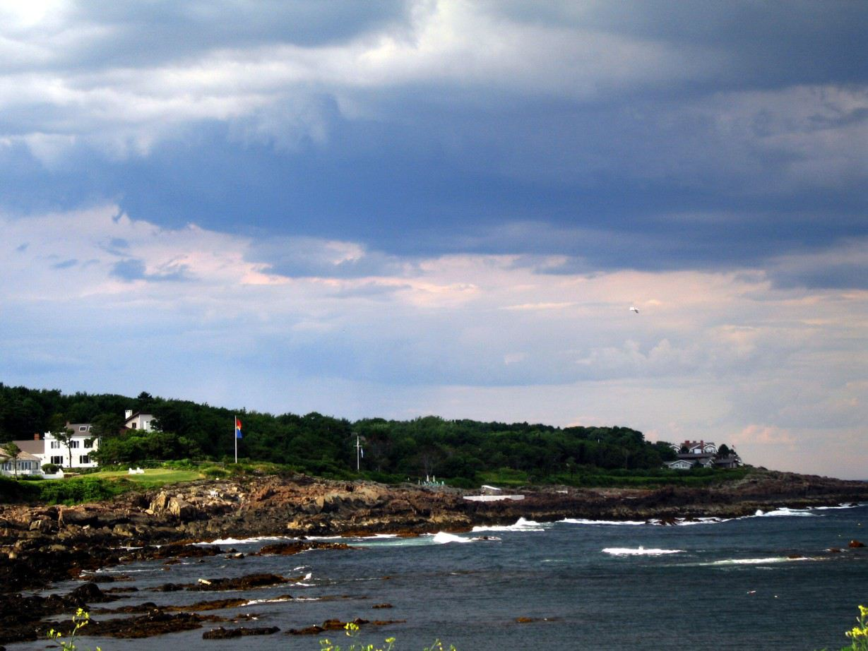 Oceanside in Maine