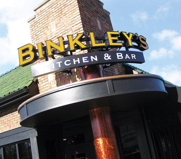 Exterior de Binkley's Kitchen & Bar
