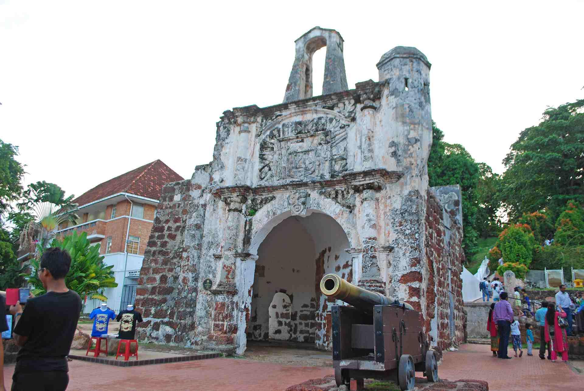 Porta de Santiago, Melaka
