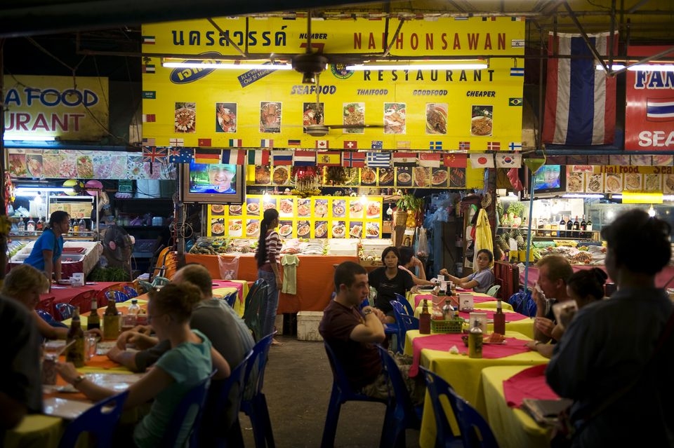 Bangla Road Outdoor Restaurant