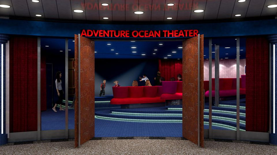 Oasis of the Seas - Ocean Theater