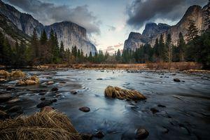 Valley view of Yosemite