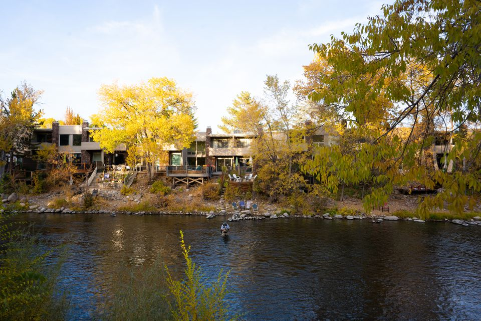 Fall colors along the Truckee River