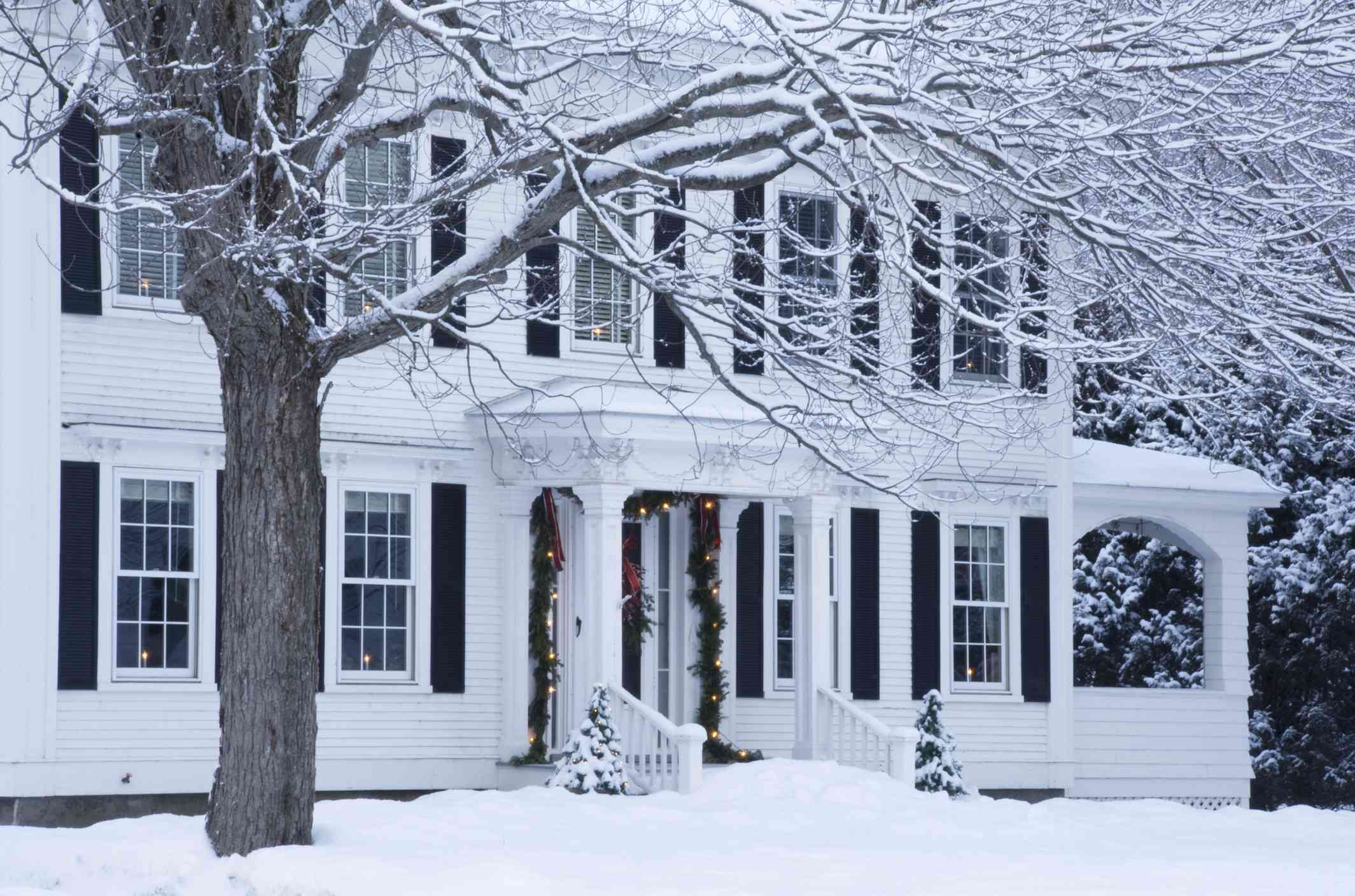 Winter Home in Woodstock, Vermont