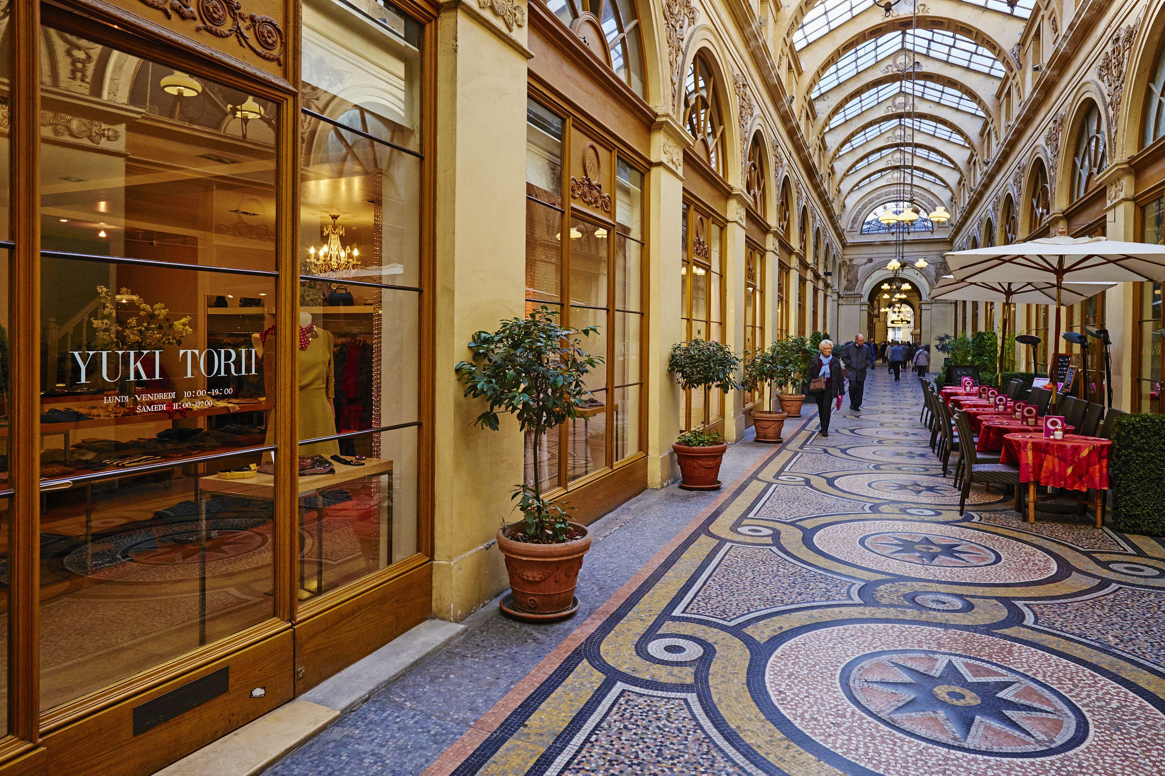 France, Paris, Vivienne galerie