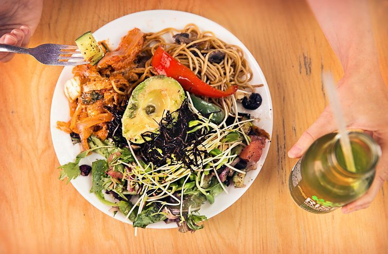 Resto Végo is a Montreal vegan and vegetarian restaurant.
