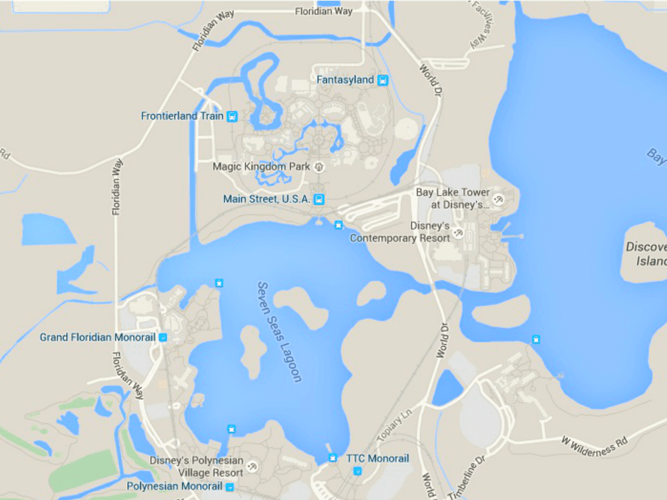 Maps Of Walt Disney World S Parks And Resorts