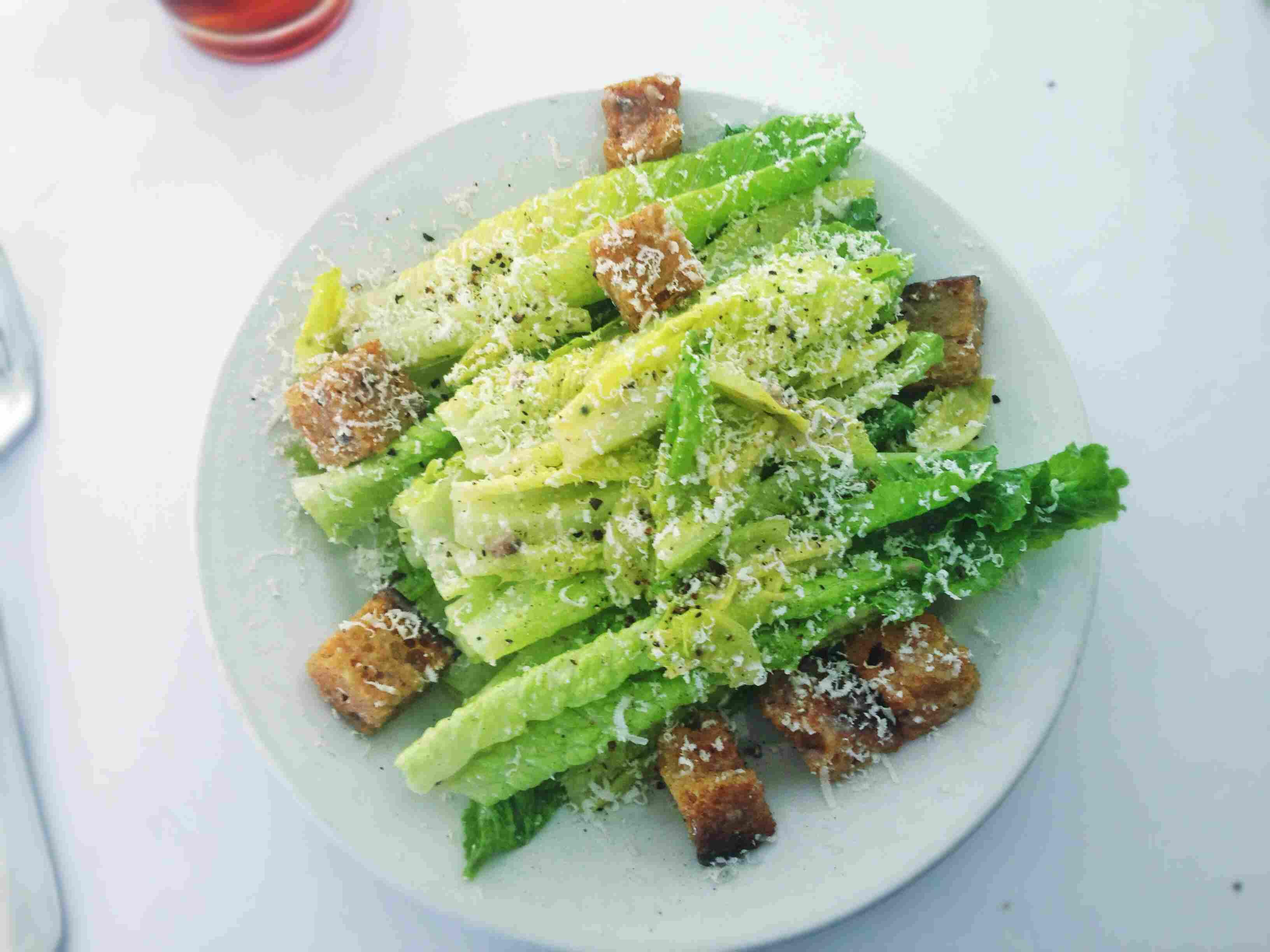 Zuni caesar salad