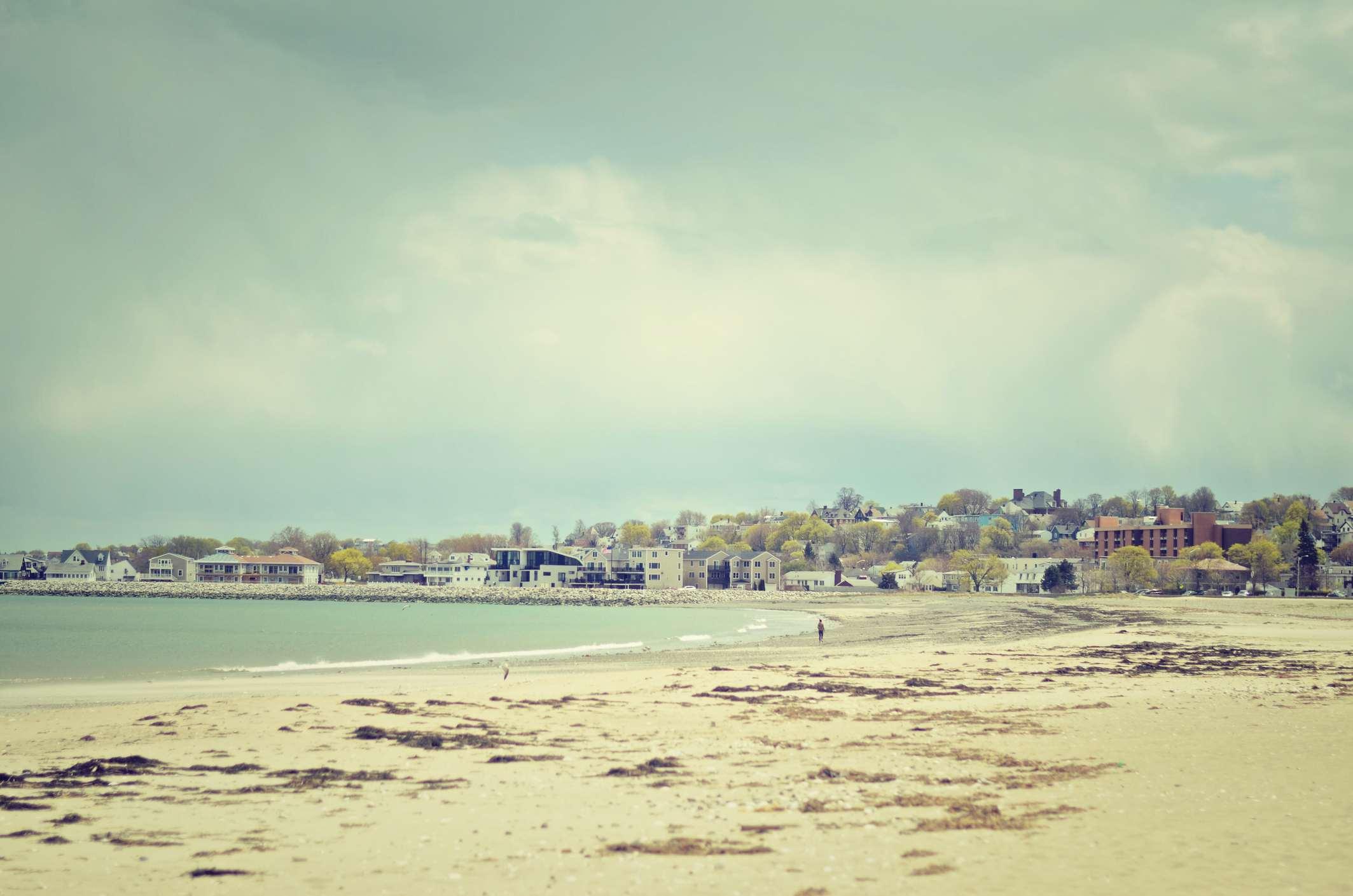 Revere Beach in Boston, Massachusetts.