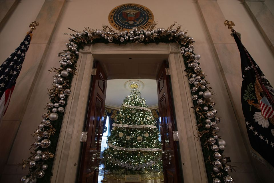 christmas at the white house - White House Christmas Decorations