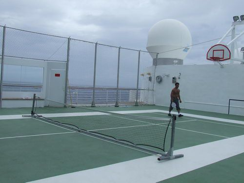 Celebrity Infinity - Outdoor Basketball and Paddle Tennis Court
