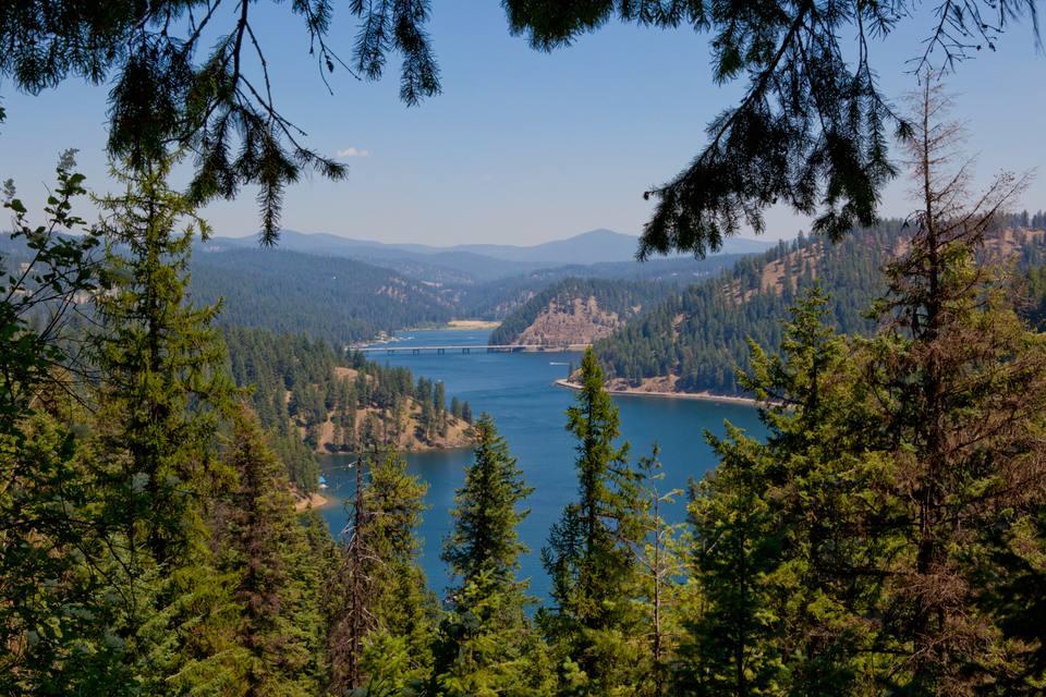 Lago Coeur d'Alene, Idaho