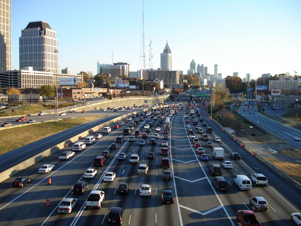 Traffic in Atlanta Georgia