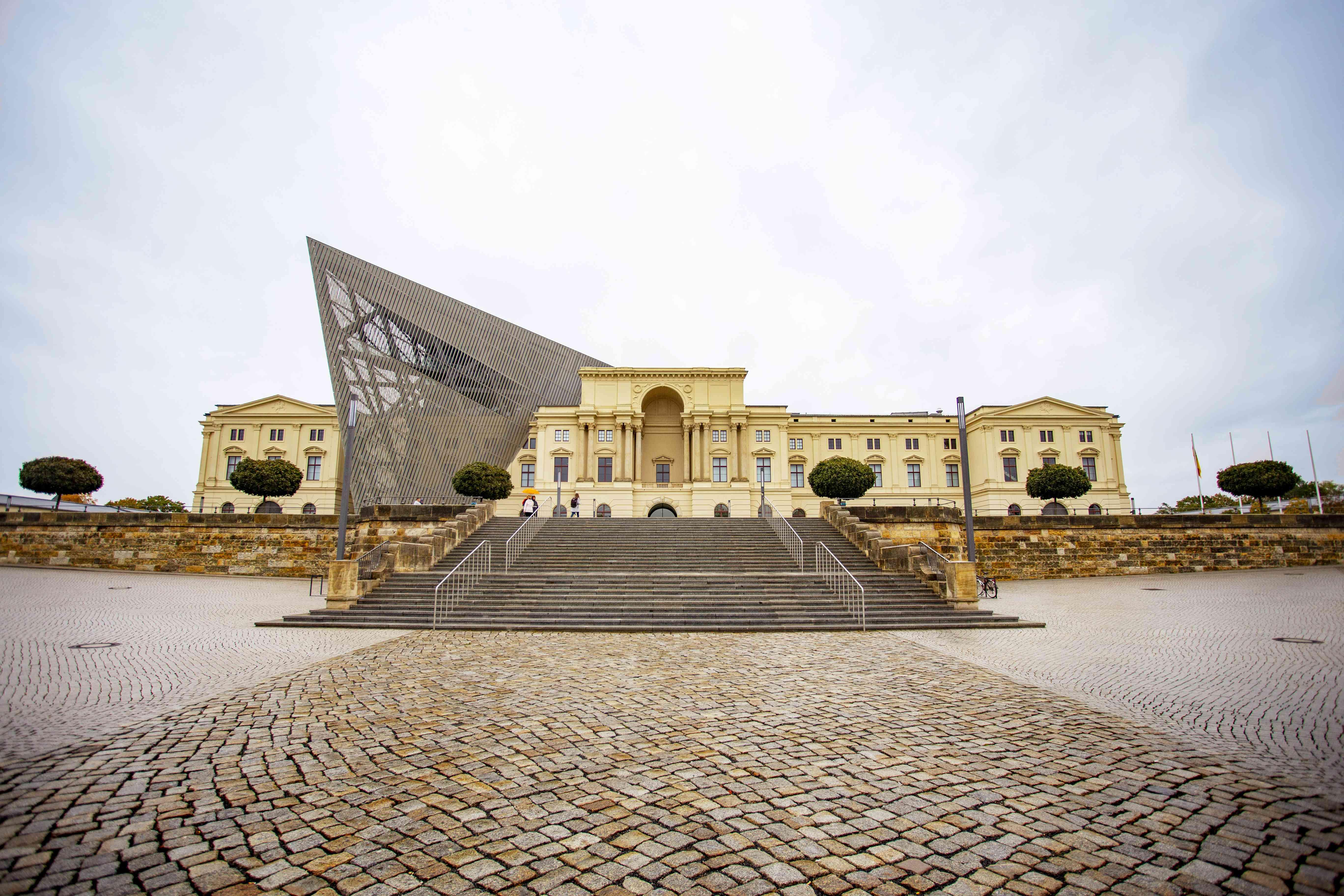 Exterior del Museo Militar de Dresde