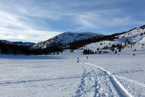 Tahoe Meadows cross country skiing