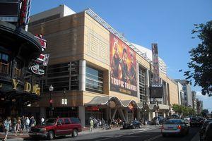 The Verizon Center in the Chinatown neighborhood of Washington, D.C.