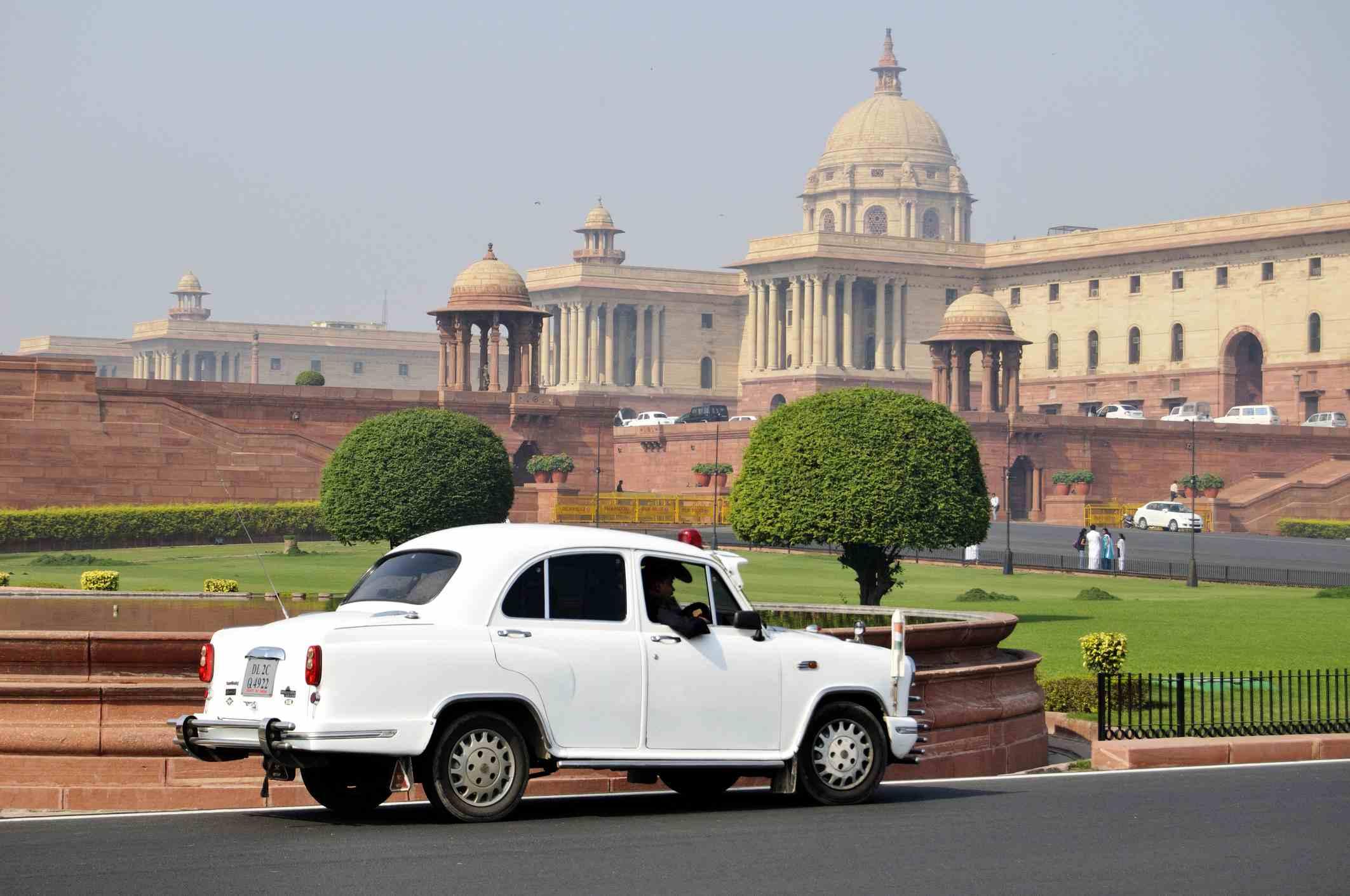 Parliament house at delhi, India