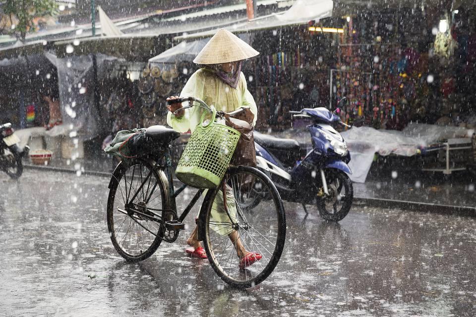 Temporada de monzones en Vietnam