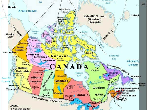 Map Of Canada And Alberta Plan Your Trip With These 20 Maps of Canada