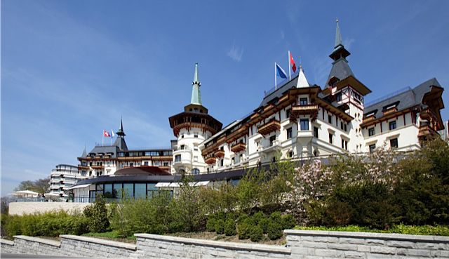 Dolder Grand hotel in Zurich, Switzerland