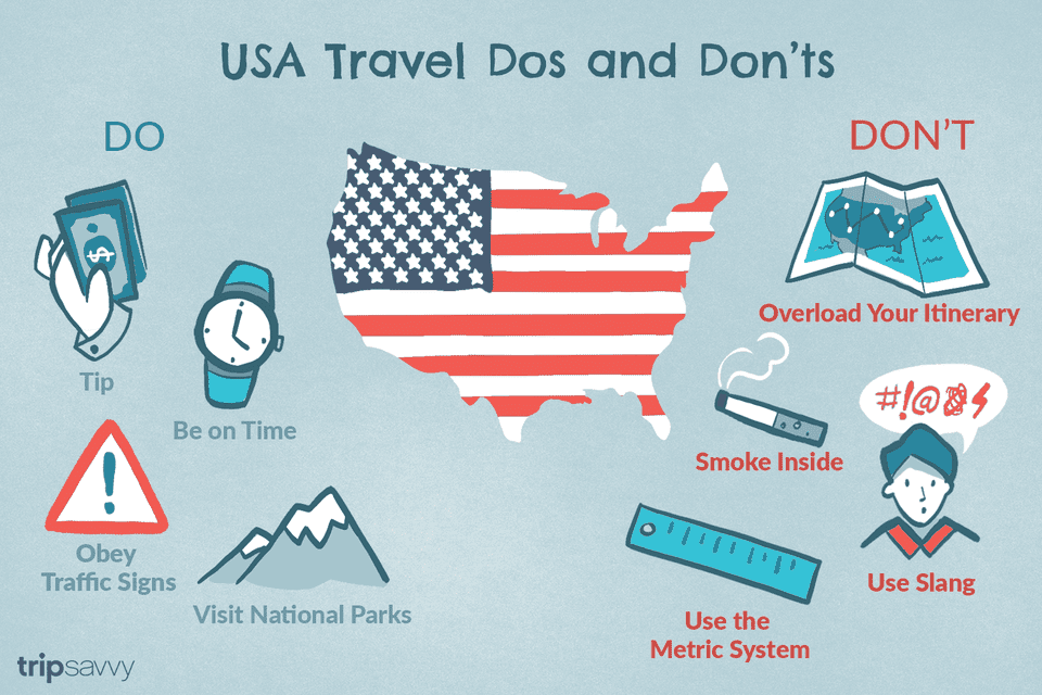USA Travel Dos & Dont's