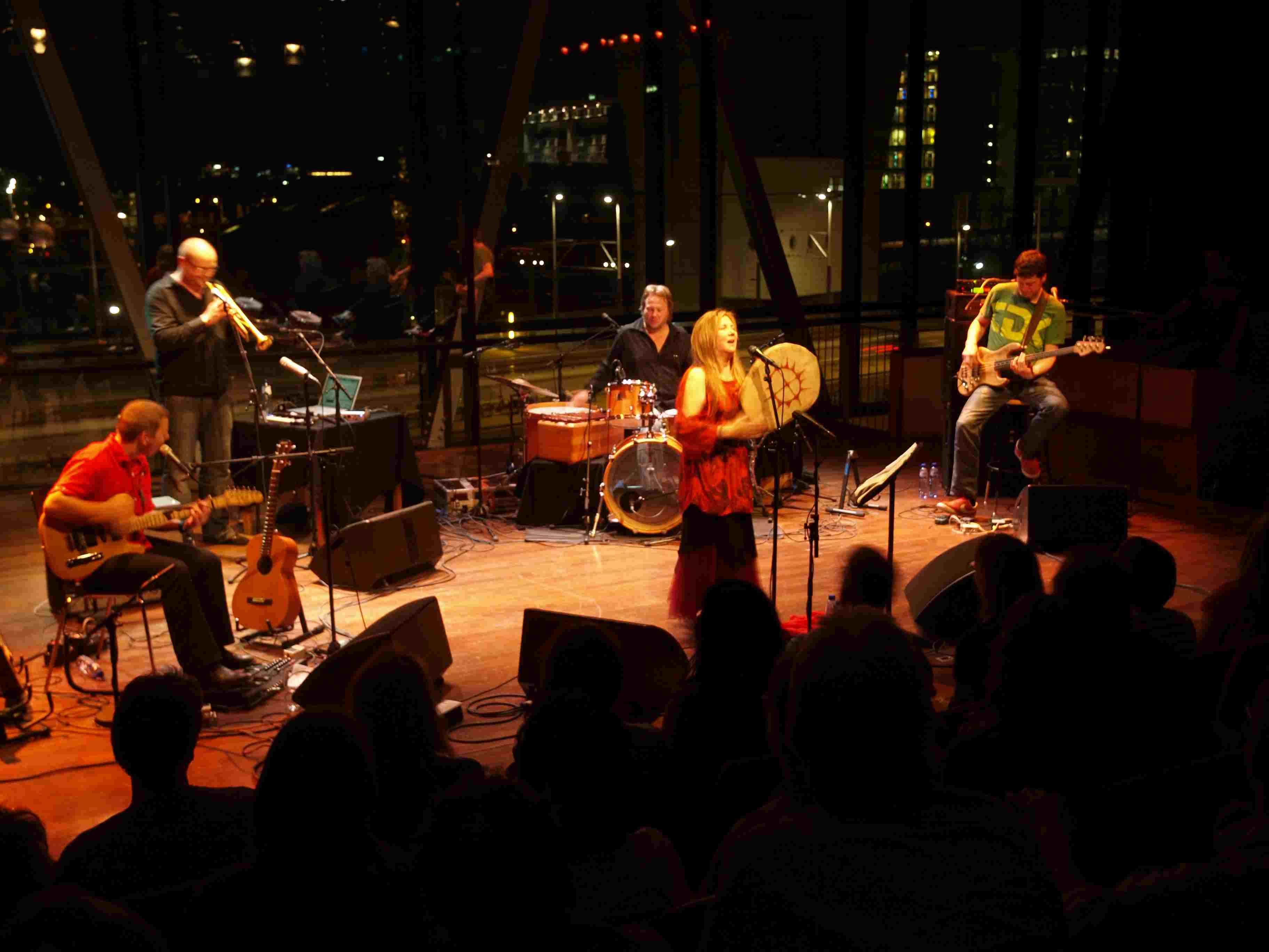 A group performs at Bimhuis