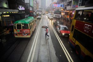 Flash Floods Hit Hong Kong as Meteorologists Predict a Return of El Nino