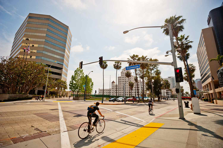 Long Beach Downtown District, California, USA