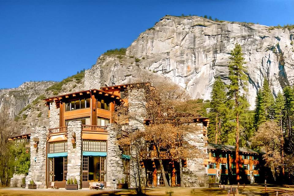 Ahwahnee Hotel at Yosemite