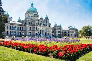 British Columbia parliament building, victoria