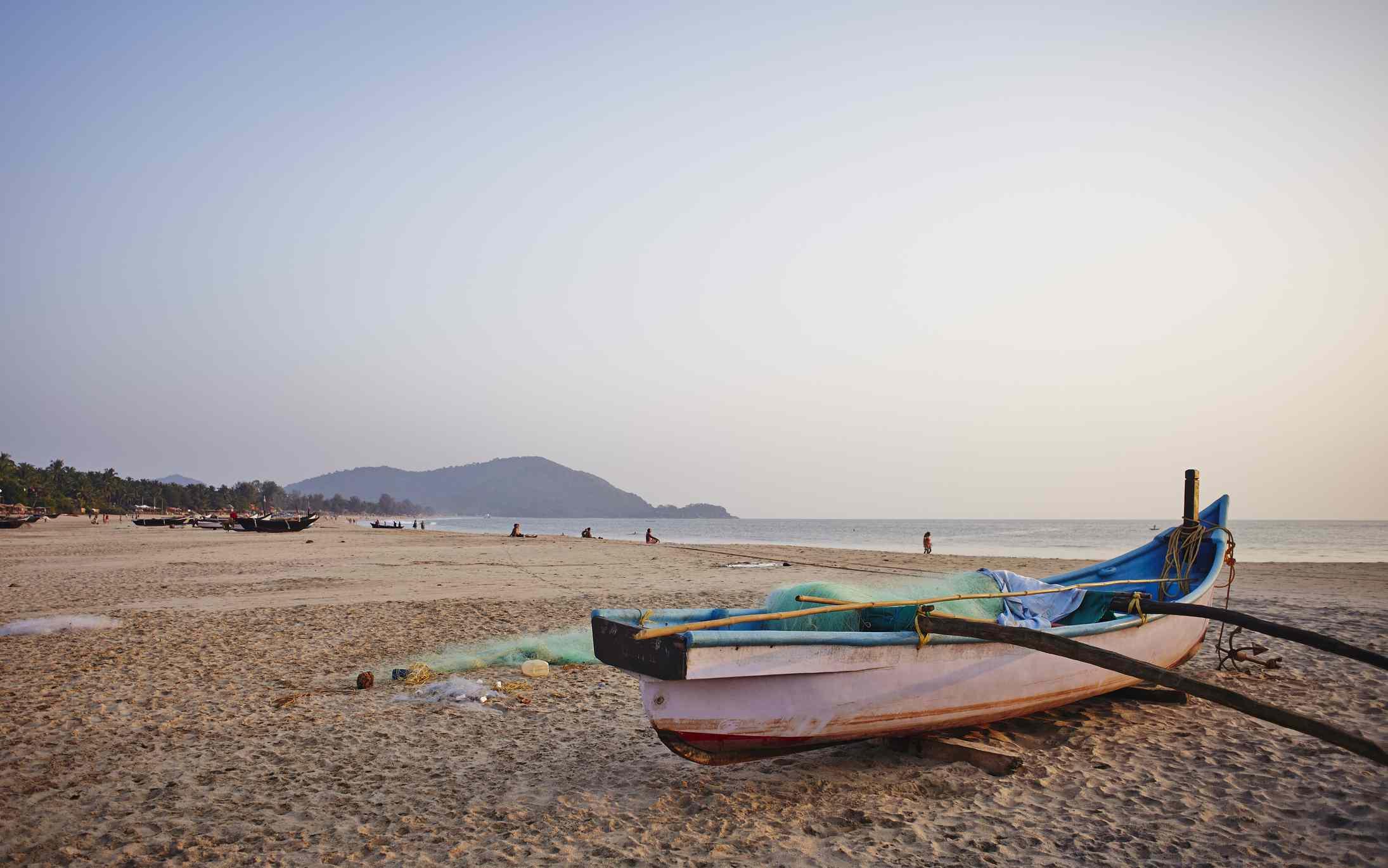 Agonda beach.