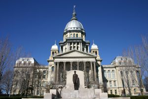 Illinois State Capitol Building in Springfield