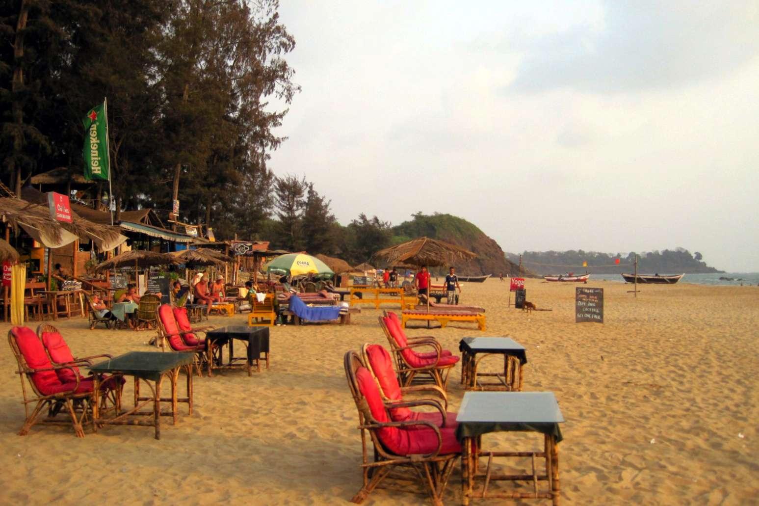 Playa Patnem, Goa