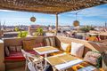View from the rooftop terrace of a riad in Marrakech, Morocco