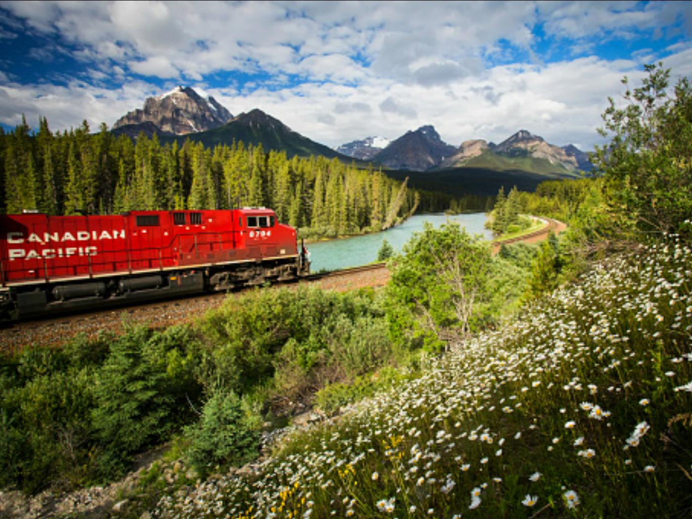 Banff by Train