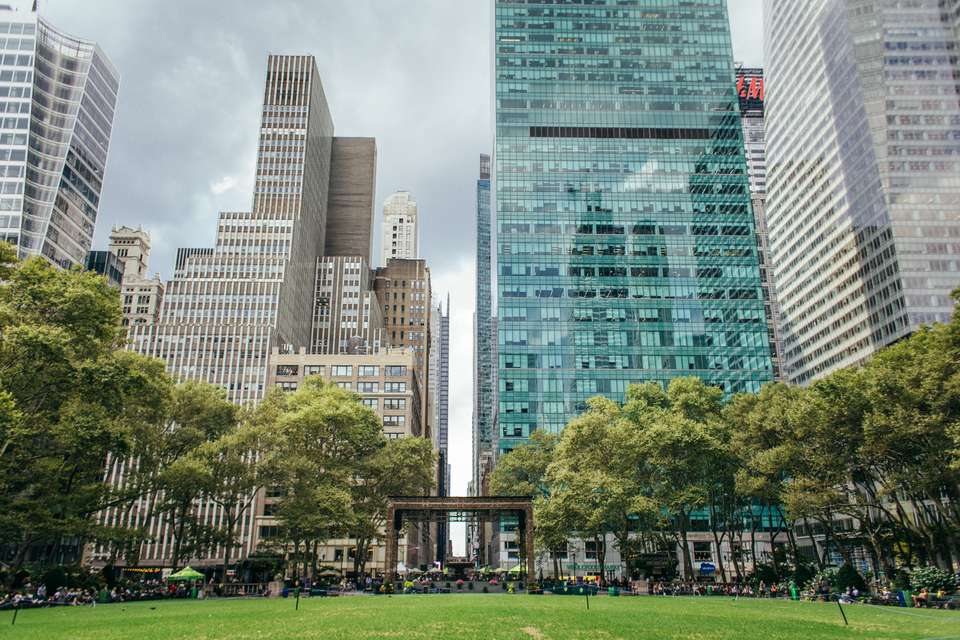 Bryant Park in New York City, NY