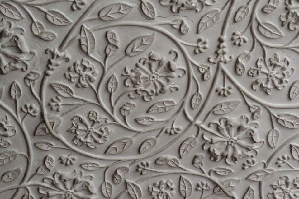 Plaster Ceiling of the Queen's Bedroom at Burton Agnes Hall
