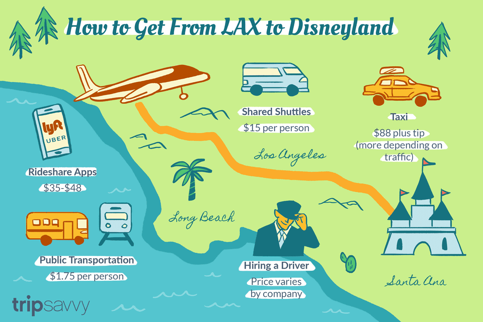 How to Get From LAX to Disneyland