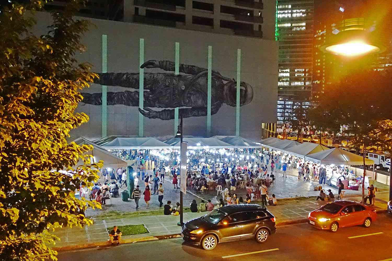 Midnight Mercato grounds, Bonifacio Global City