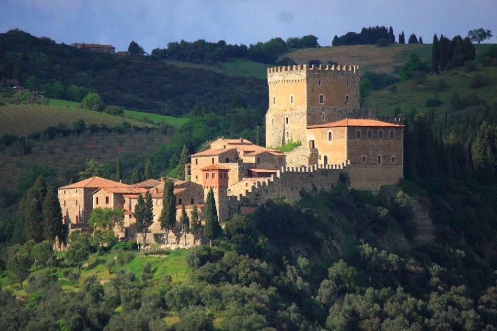 Castello Ripa d'Orcia