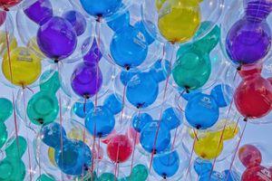Balloons at Disneyland