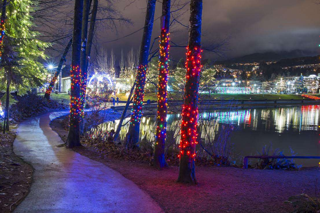 Vancouver Christmas Lights.6 Places To See The Christmas Lights In Vancouver