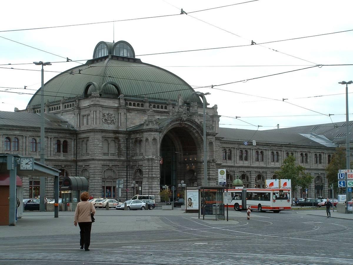 Nuremberg Train Station in Nuremberg, Germany