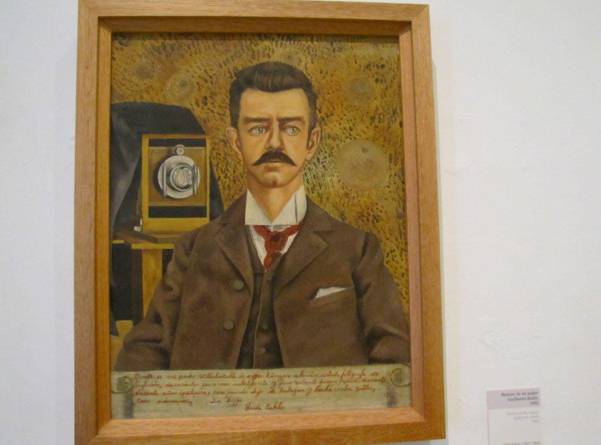 Portrait of Guillermo Kahlo