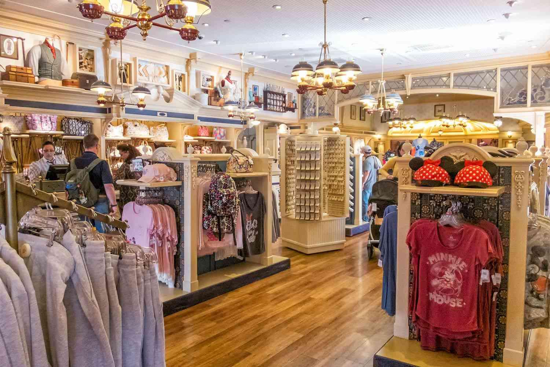 Shopping at Disney California Adventure