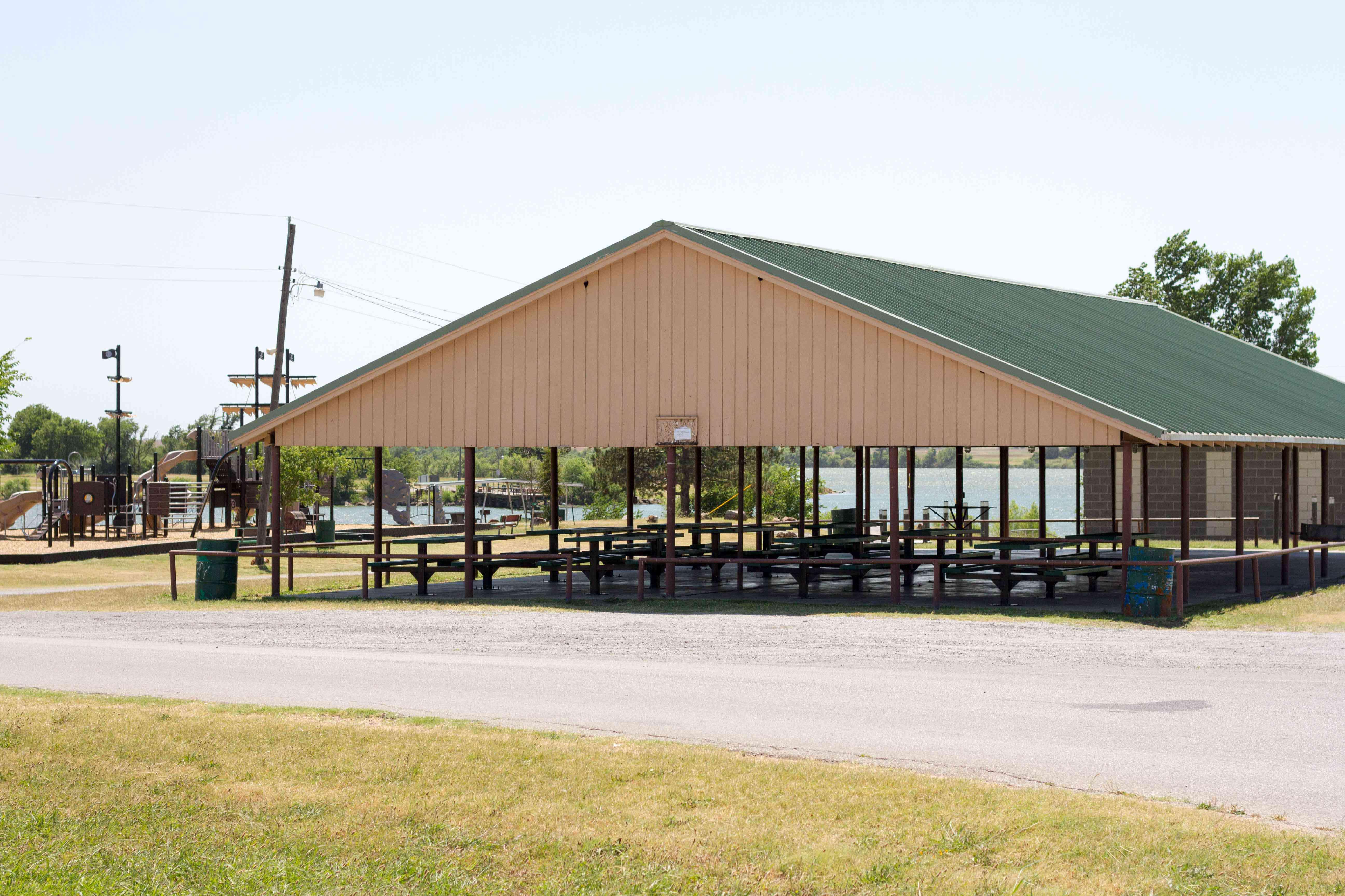 Adams Park pavilion