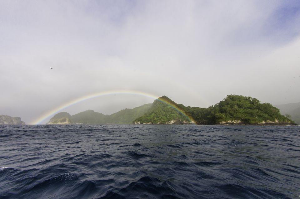 Rainbow sobre Cocos