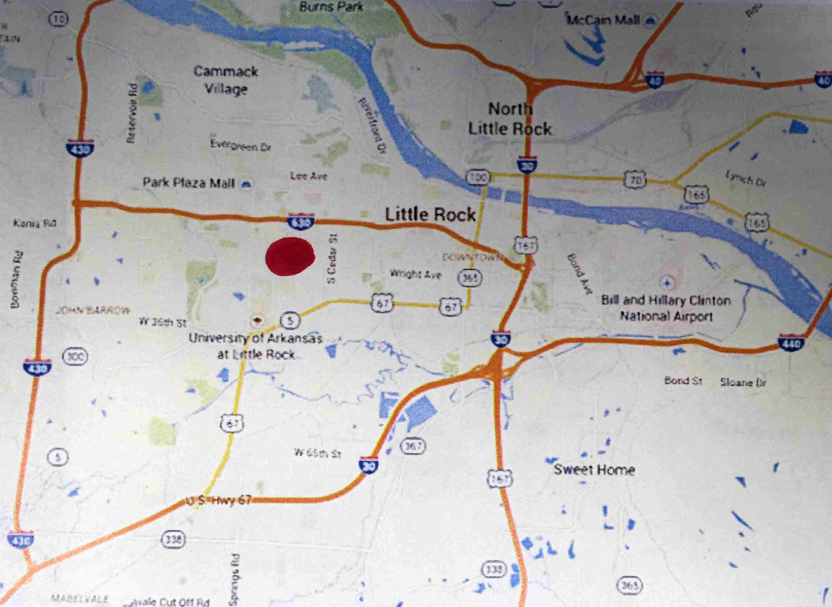 The Most Dangerous Areas in Little Rock, Arkansas